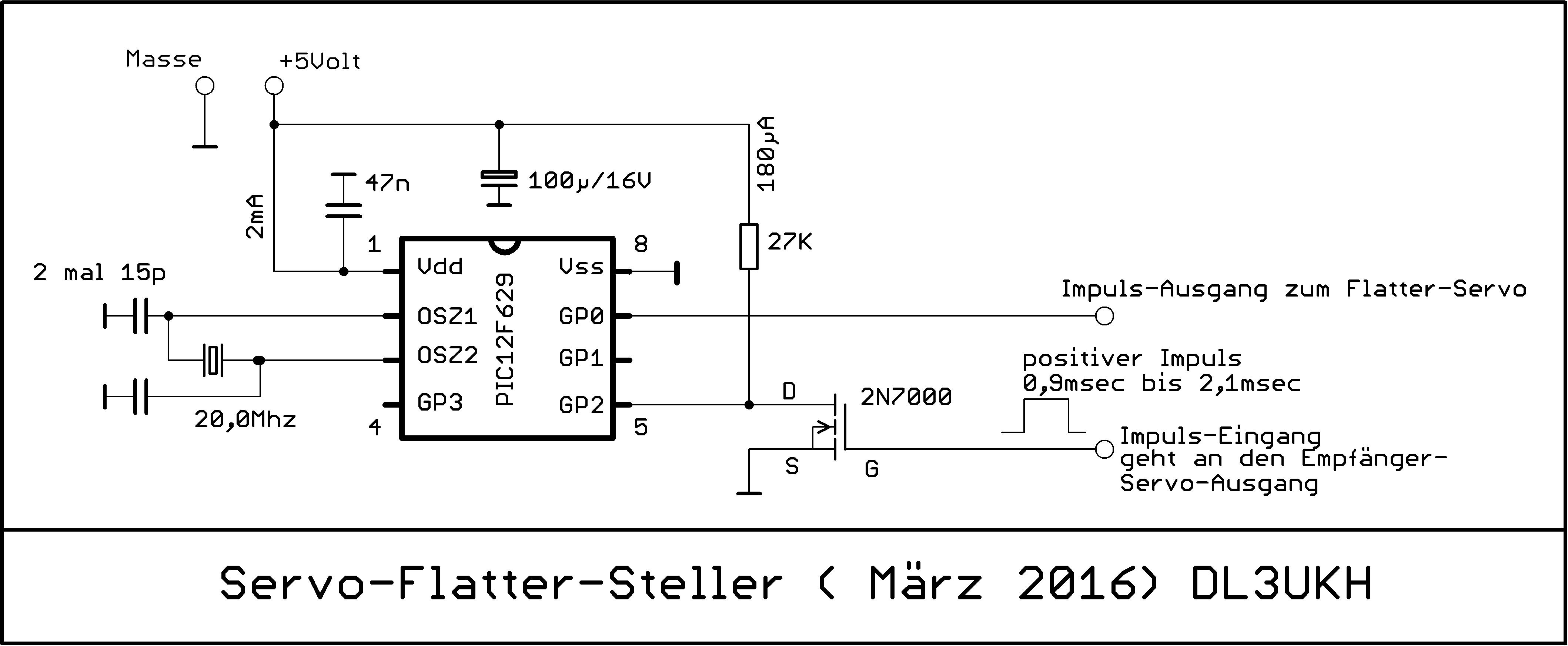 Modellbasteln mit Servo-Schaltern und Stellern
